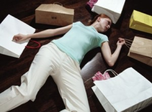 confront shopping addiction